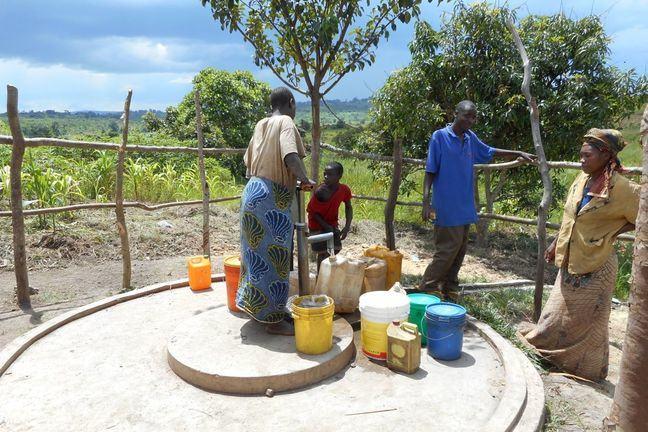 PE2 handpump in Tanzania