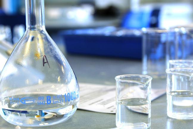Laboratory glassware - various flasks and beakers