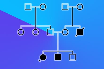Image of pedigree diagram