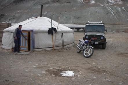 Ger, Altai Mountains, Mongolia
