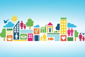 Logo for sustainable development goals