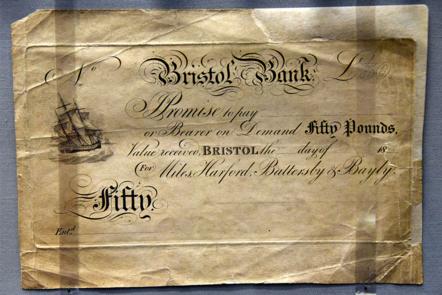 Bristol Bank 50 pound note