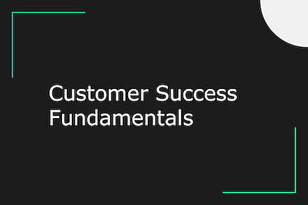 Activity image for Customer success fundamental