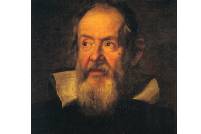 Painting of Galileo