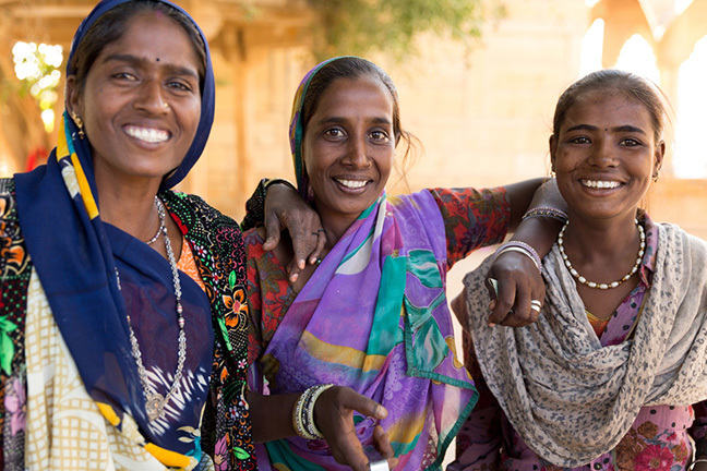 Women in sisterhood