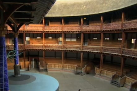 The Globe Theatre (interior)