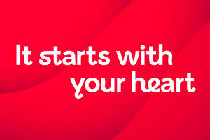 It starts with your heart title