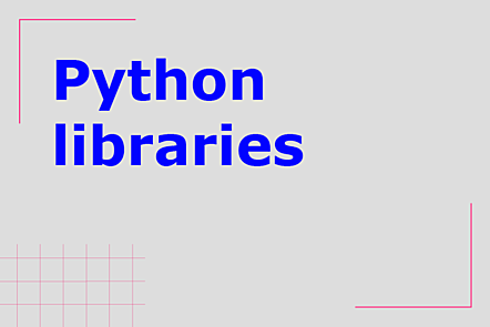 PFP01-Title card-Python libraries