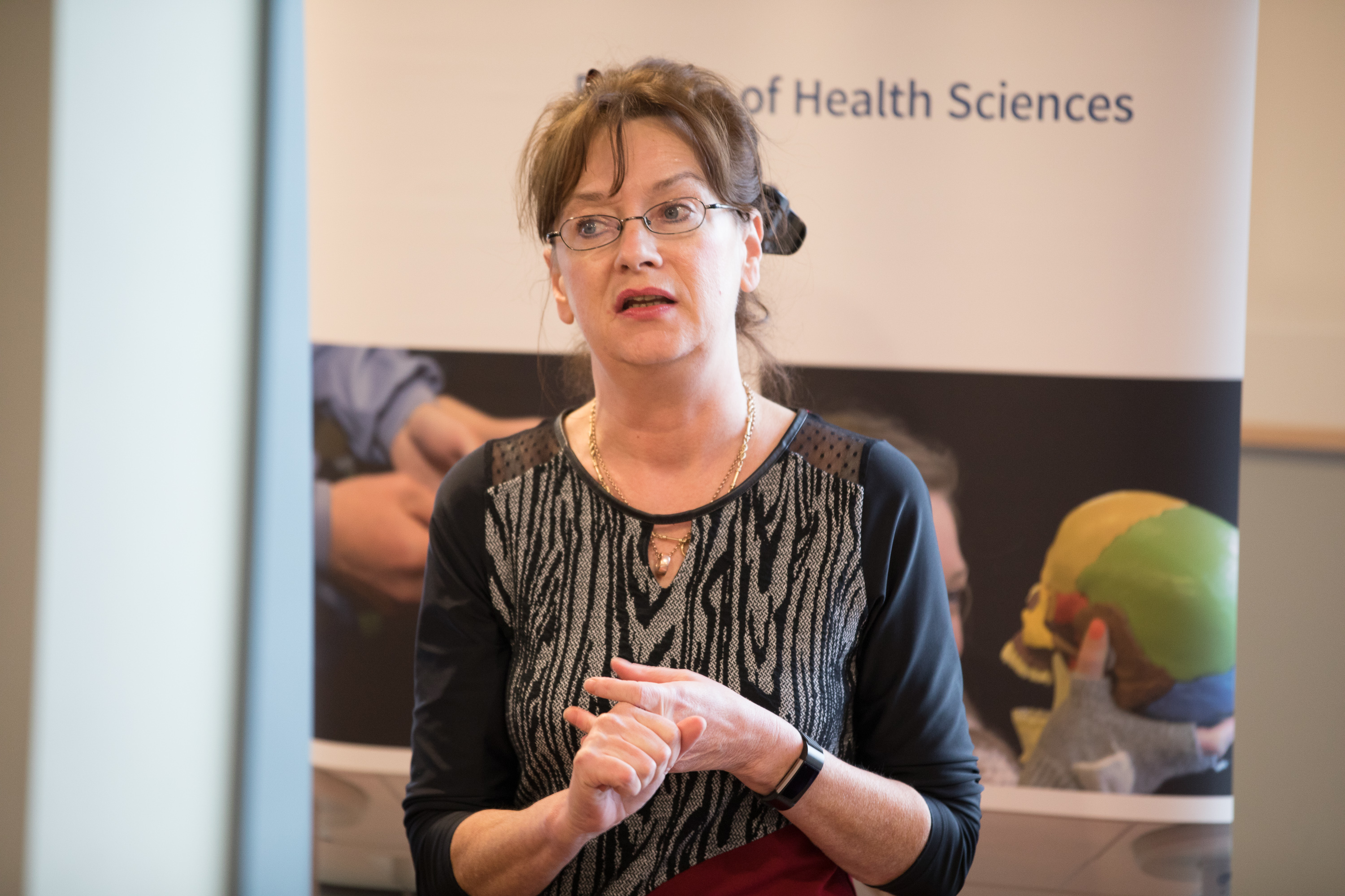 A picture of Dr Deirdre Daly: Principal investigator of the Maternal health And Maternal Morbidity in Ireland (MAMMI) study.