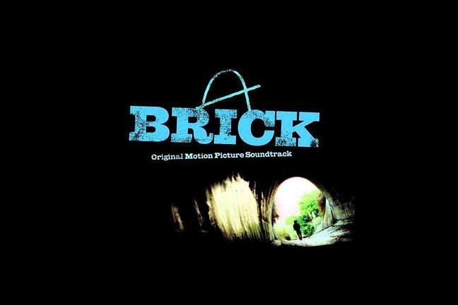 cover of soundtrack album for Brick