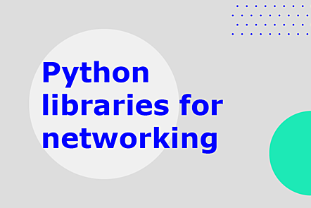 Python libraries for networking