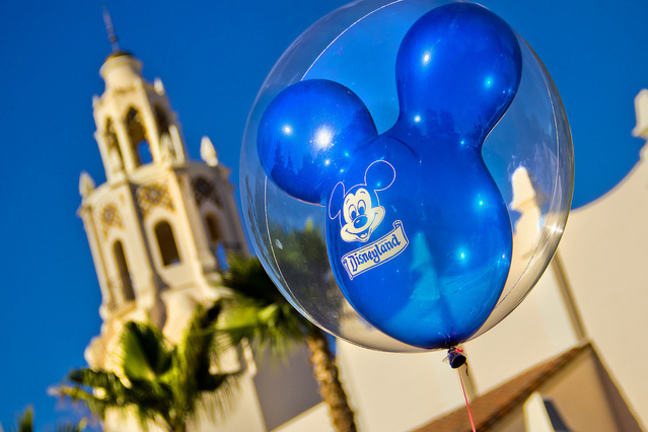 Disneyland balloon