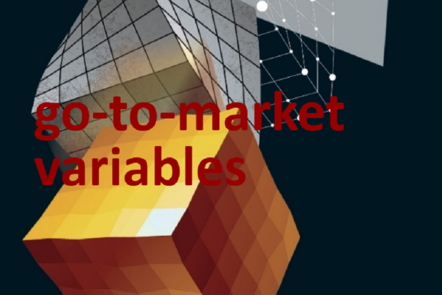 "Part of Scale-up Manual front cover image with the word ""go-to-market variables""."