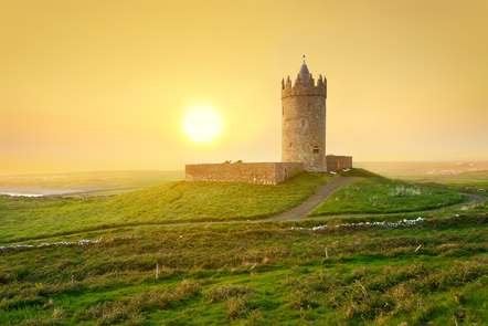 Image of Doonagore Castle, Co. Clare