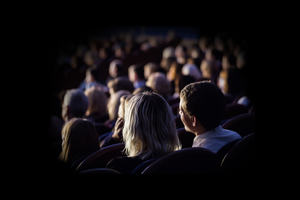 Audience in a theatre