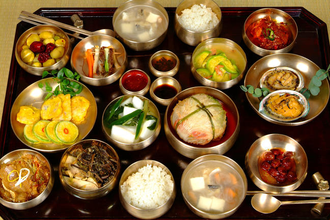 Korean dining