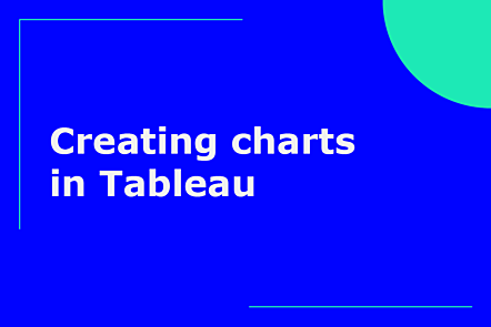 Creating charts in Tableau