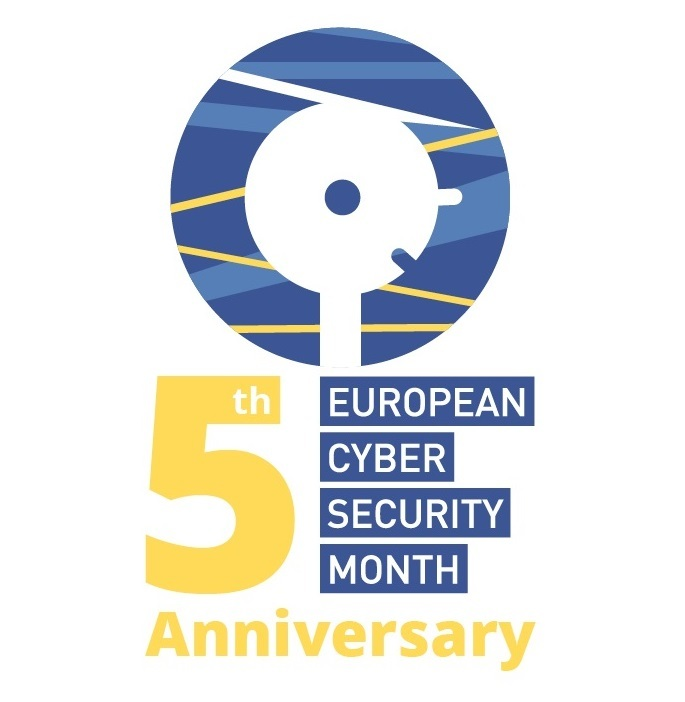 Cyber Security Month 5th anniversary logo
