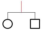 Line Down Symbol