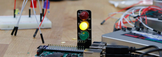 Raspberry Pi and LEDs