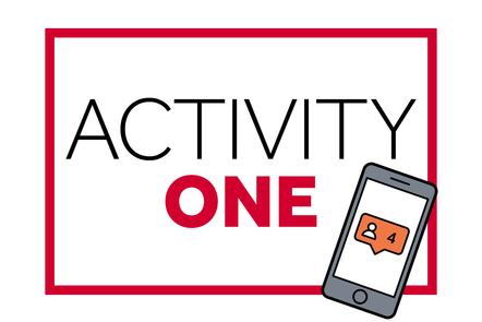 Text: Activity One